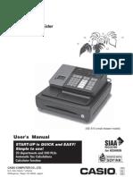 Casio SE S10M User Manual