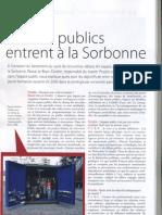 Les Arts Publics Entrent a La Sorbonne Stradda n 3 Janvier 2007