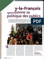 Vitry Le Francois Questionne Sa Politique Des Publics La Scene n 41 Juin 2006