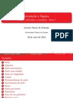 Introd Algebra - Resumo 2 - Lenimar N Andrade