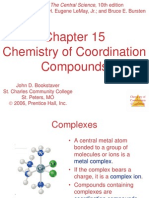 Ch 15 Coordination Compounds