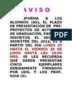 Fecha Presentacion Ante-proy. Act. Grad.(1)