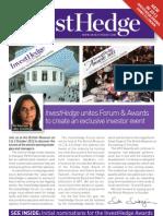 InvestHedge Forum & Awards Brochure 2012