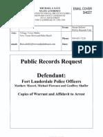 Ftl Police Affidavit