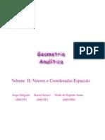 Geometira analitica no espaço