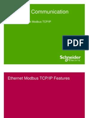 Ethernet Modbus TCPIP | Network Switch | Computer Network