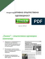 Tinex - OOP Prezentacija