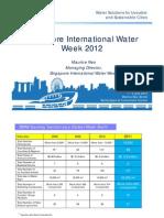 10(a)Singapore International Water Week 2012