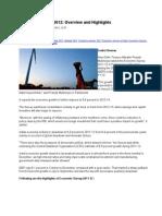 Economic Survey 2012