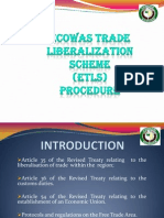 ECOWAS Trade Liberalization Procedure (ECOWAS)