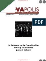 La Reforma de la Constitución Ideas para el debate - Edición No.9 Noviembre 2004 Febrero 2005 - NovaPolis - REVISTA DE ESTUDIOS POLÍTICOS CONTEMPORÁNEOS - Paraguay - PortalGuarani