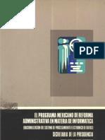 61 El Programa Mexicano de Reforma Administrativa en Materi