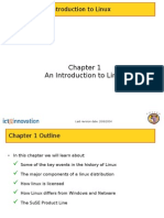Chapter 1 Intro to Linux