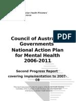 Nap Mental Health2006-2011-Second Progress Report