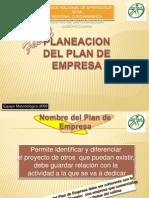 PLANEACIÓN DEL PLAN DE EMPRESA