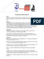 Scaffolding Guidelines