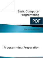 Basic Computer Programming Using VB6