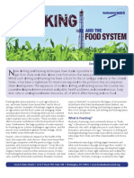 Fracking and the Food System