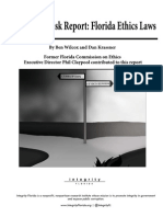 Corruption Risk Report - Florida Ethics Laws