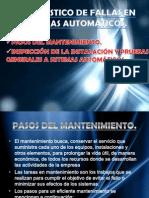 DIAGNOSTICO DE FALLAS EN SISTEMAS AUTOMÁTICOS