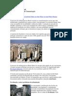Urbanização do Brasil geografia 2m