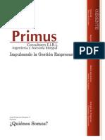 Presentacion Empresa Primus Consultores