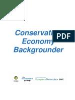 Conservation Economy Background Er