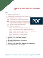 la méthode PDM