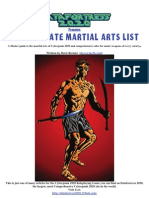 Cp2087 Ultimate Martial Arts