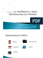 Ingmmurillo - Business Intelligence y Data Warehousing Con Pentaho
