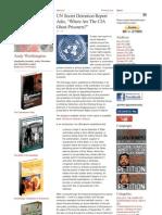UN Secret Detention Report - Where Are the CIA Ghost Prisoners