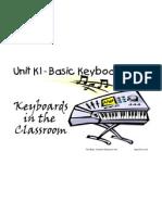 Unit K1-Basic Keyboard Skills