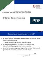 Criterios convergencia