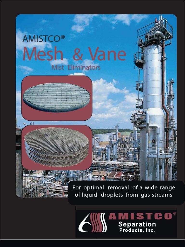 AMISTCO Design Manual | Drop (Liquid) | Gases