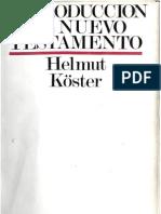 Introduccion Al Nuevo Testamento (Helmut Koster)