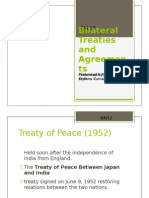Bilateral Treaties and Agreements