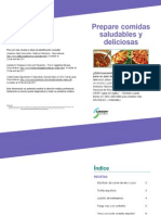 Diabetes Create Healthy and Delicious Meals SPANISH