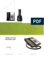 TeleMatrix SIP Phone Administration Guide 0701091