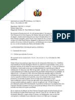 SENTENCIA CONSTITUCIONAL 1517 desestimacion