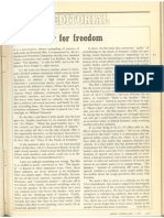 LJ Editorial, 'A Whimper for Freedom', from 1977