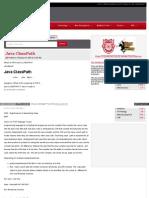 Java Java Classpath Shtml