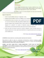 Protocolo General DMSO