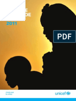 El Informe anual de UNICEF de 2011