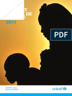 Le Rapport annuel de l'UNICEF pour 2011