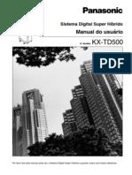 KX-TD500 - Manual de Usuário Telefone (V2.5)