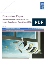 Illicit Financial Flows from the Least Developed Countries 1990-2008