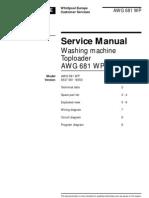 Whirlpool Awg 681 Wp4 [ET]