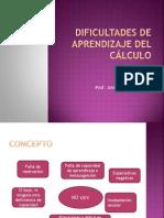 2. DIFICULTADES DE APRENDIZAJE DEL CÁLCULO