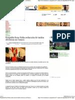 06-06-12 Respalda Rosa Nidia reducción de tarifas eléctricas en Oaxaca