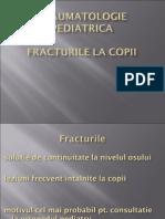 fracturi pediatrice